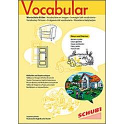Vocabular Wortschatz-Bilder - Wohnen 1: Haus und Garten, 3-99 Jahre