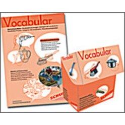 Vocabular Wortschatz-Bilder KOMBIPAKET Wohnen 2: Haushalt & Werkzeug, 3-99 Jahre