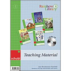 Rainbow Library 4 Set Teaching Material, 3.-4. Klasse