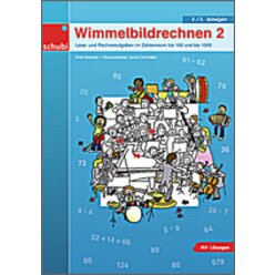 Wimmelbildrechnen - Differenzieren leicht gemacht 2.-3. Klasse