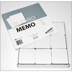 Blanko-Memo, 120 Stück, (nur solange der Vorrat reicht!), 3-99 Jahre