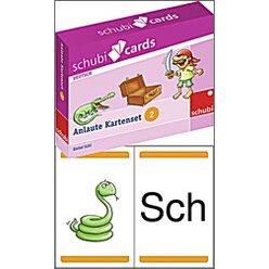 Schubicards: Anlaute Kartensets 2, 6-9 Jahre