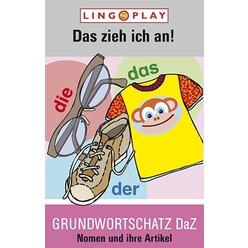 Grundwortschatz DaZ - Das zieh ich an!, Kartenspiel, ab 5 Jahre
