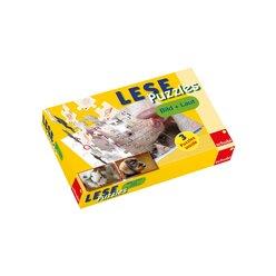 LESEpuzzles Bild und Laut: Anlaute und Auslaute, 4-7 Jahre