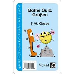 Mathe-Quiz: Größen, Kartenspiel, 5.-6. Klasse