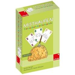 Misthaufen - Tierrechen-Kartenspiel, 4-8 Jahre