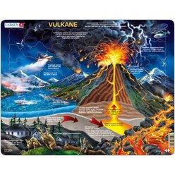 Larsen Lernpuzzle Vulkane