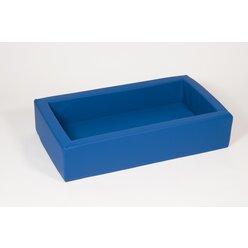 Schaumstoffbett klein blau