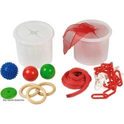 Steck-Dosen-Set mit Material, ab 2 Jahre