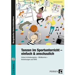 Tanzen im Sportunterricht - einfach & anschaulich, Broschüre inkl. DVD, 1.-4. Klasse