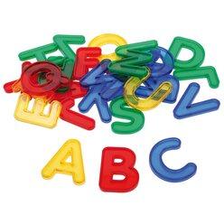 Transparente Buchstaben, ab 3 Jahren