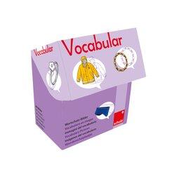 Vocabular Wortschatz-Bilder - Kleidung und Accessoires, Bilderbox, 3-99 Jahre
