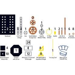 Polydron Techniker Set 109 Teile, ab 9 Jahre