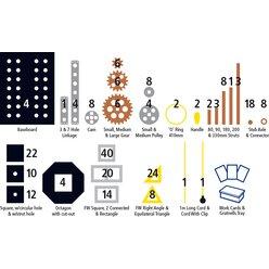 Polydron Techniker Klassensatz 250 Teile, ab 9 Jahre