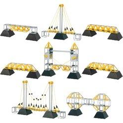 Polydron Brücken-Set 134 Teile