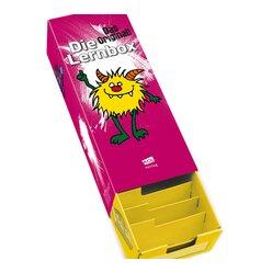 AOL Lernbox DIN A8, Design: Monster,  5er-Paket