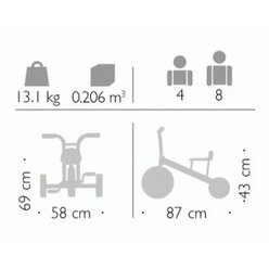 Winther® Viking Dreirad groß 8900452