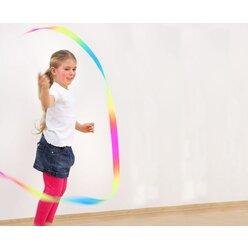 Gymnastikband Regenbogen, Bandlänge 3m