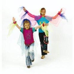 Jongliertücher - 10 Farben, 65 x 65 cm
