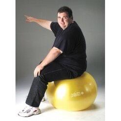 Gymnic Classic Plus 75 cm, gelb
