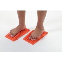 Gymnic Bene Feet Mat, 2 Fußmassagenmatten
