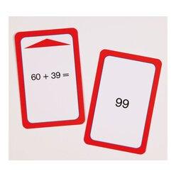 Addition-Spielkarten  bis 100 ohne Zehnerübergang