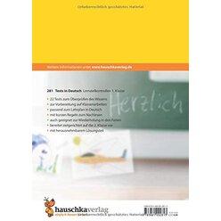 281 Tests in Deutsch - Lernzielkontrollen 1. Klasse