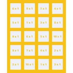 Cambio - Multiplikation bis 100, 6-12 Jahre