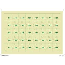 MATHpuzzles  - Subtraktion bis 1000, 6-9 Jahre