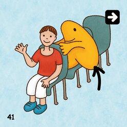 Sprachspiele zu den Präpositionen, 4-8 Jahre
