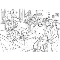 Vocabular Wortschatz-Bilder - Familie und soziales Umfeld, Kopiervorlagen, 3-99 Jahre