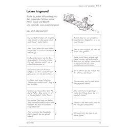 Lesen und verstehen, Aufgaben für das Leseverstehen A, 3.-4. Klasse
