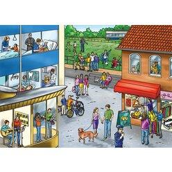 Vocabular Wortschatz-Bilder - Familie und soziales Umfeld, Bilderbox, 3-99 Jahre