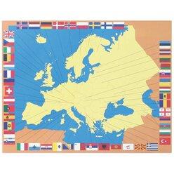 Kommode Europa mit 4 Karten