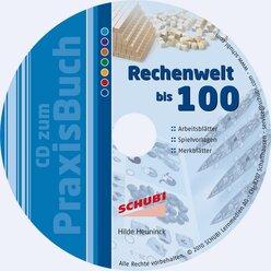 Praxisbuch Rechenwelt bis 100, inkl. CD-ROM, 2. Klasse