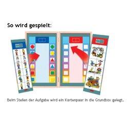 Flocards Buchstaben und Wörter