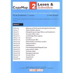 CopyMap 2 Ähnliche Laute, Lautanalyse und -synthese, ab 6 Jahre