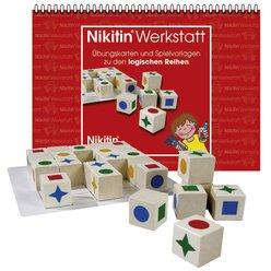 Set Nikitin Logische Reihen N8 + Werkstatt Arbeitsheft