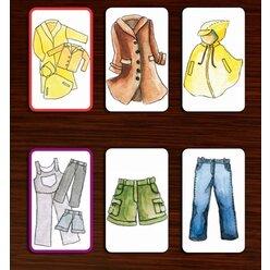 LingoCards Wortschatz Jacke wie Hose - Wortfeld Kleidung, ab 4 Jahre