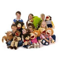 Living Puppets  Kleiner Lasse Handpuppe W139