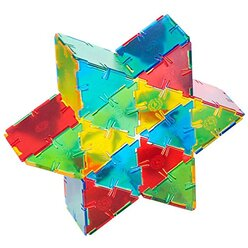 "Crystal Polydron Bulk Set, 100 Dreiecke, ab 4 Jahre <span style=""color:red;"">NEU!</span>"