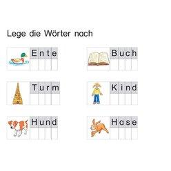 Wörter legen und lesen