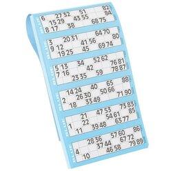 Bingo-Lotto-Block für 90 Kugeln 1 Stück