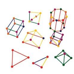 Geometrie-Steckbaukasten, 3-14 Jahre