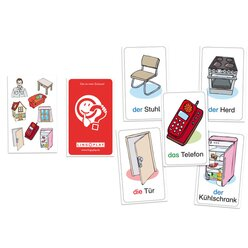 Grundwortschatz DaZ - Das ist mein Zuhause!, Kartenspiel, ab 5 Jahre