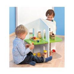 Puppenhaus, zweistöckig