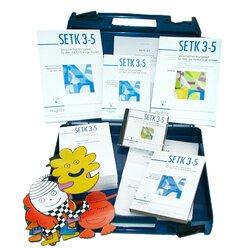SETK 3-5, Sprachentwicklungstest, komplett (3. Auflage/Neuauflage)