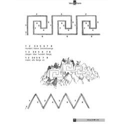 Vers und Form, Rhythmisches Zeichnen, 5-7 Jahre