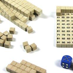 Lernspielset: Mathespiel Hunderterraum, ab 7 Jahre