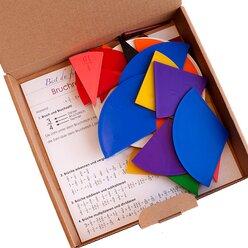 Lernspielset: Bruchrechenteile rund, ab 9 Jahre